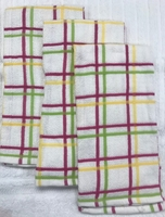 Summertime Multi Check  Cotton Kitchen Towels