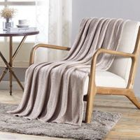 The Versailles Collection Deluxe Throw Ivory