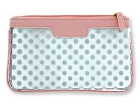 Think Pink Clear Cosmetic Bag