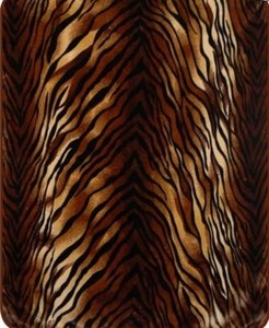Tiger Stripes Heavy Weight Luxury Blanket