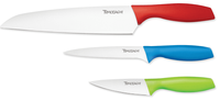 Tomodachi 3pc Ceramic Coated Cutlery Set