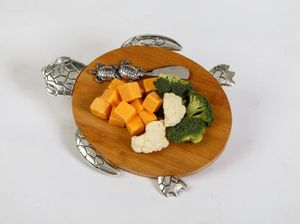 Tropical Cheese Board-turtle
