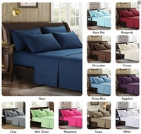 TWIN EXTRA LONG  SIZE Super Soft 2100 Series Sheet Sets