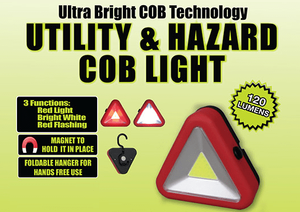 Utility & Hazard COB Triangle Light