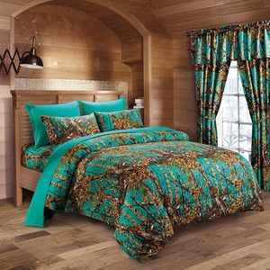 Woods Teal King Sheet Set