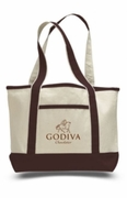 Accent Trim Deluxe Shopping Tote