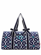 Anchor Quilted Duffle Bag|Personalized