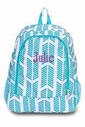 Arrow Backpack|Monogrammed