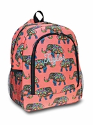 Boho Elephant Backpack|Monogram