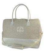 Bride Tote Bag - Travel Duffle|Monogrammed