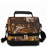Camouflage Woods Lunch Tote