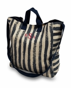 Canvas Weekender Tote Bag|Monogram