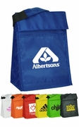 Customized Velcro Insulated Lunch Bag