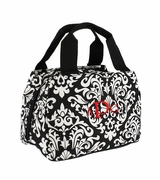 Damask Insulated Lunch Tote|Personalized