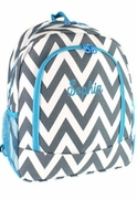 Embroidered Chevron Backpacks