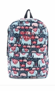Embroidered Elephant Backpacks