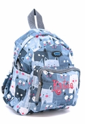 Embroidered Mini Youth Backpacks - Cats