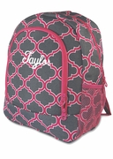 Fashionable Quatrefoil Backpack|Back to School