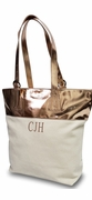 Glam Summer Canvas Tote Bag|Personalized