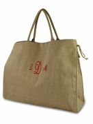 Herringbone Tote Bag|Personalized|Monogram