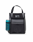 Insulated Lunch Tote Bag - Embroidered Monogram