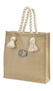 Jute Tote Bag|Monogram