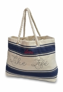 Lake Life Beach Tote|Personalized