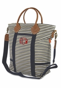 Laptop Totes|Canvas Stripe