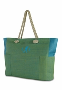 Large Beach Tote Bag|Monogram