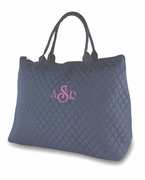 Large Tote Bag - Navy