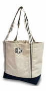 Monogram Boat Tote|Personalized