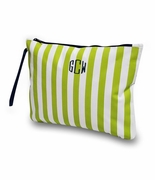 Monogram Cabana Stripe Accessory Bag -Wet/dry pouch