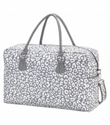 Monogram Smokey Leopard Travel Tote