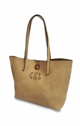 Monogram Faux Leather Totes|Personalized|2 bag set