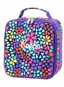 Monogram Floral Lunch Box