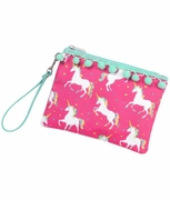 Monogram Unicorn Accessory Pouch|Personalized