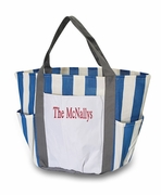 Monogrammed Beach Bags - 7 pockets