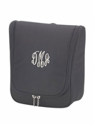 Monogrammed Hanging Cosmetic Travel Case
