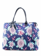 Monogrammed Quilted Tote