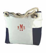 Personalized Boat Tote