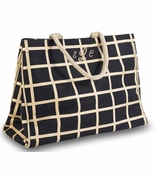 Personalized Check Tote Bag