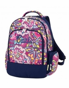 Personalized Floral Backpack|Embroidered