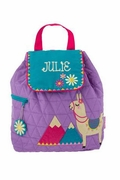 Personalized Girls Preschool Backpack|Embroidered