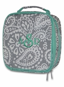 Personalized Insulated Lunch Bags|Paisley