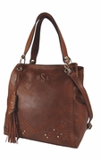 Personalized Leather Handbag Tote