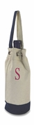 Personalized Single Canvas Wine Bag|Nautical Theme