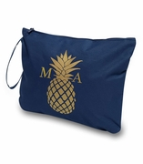 Pineapple Accessory Pouch|Monogram