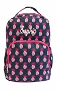 Pineapple Pattern Backpack|Monogram