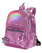 Pink Hologram Backpack for Girls