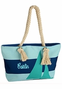 Sailboat Beach Tote Bag|Personalized